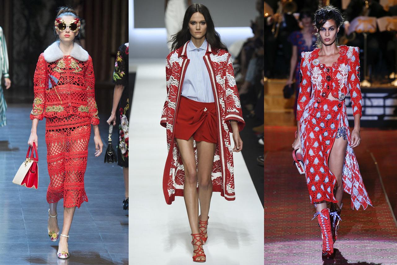 Dolce & Gabbana, Ermanno Scervino, Marc Jacobs SS16 | Fuente: Livingly