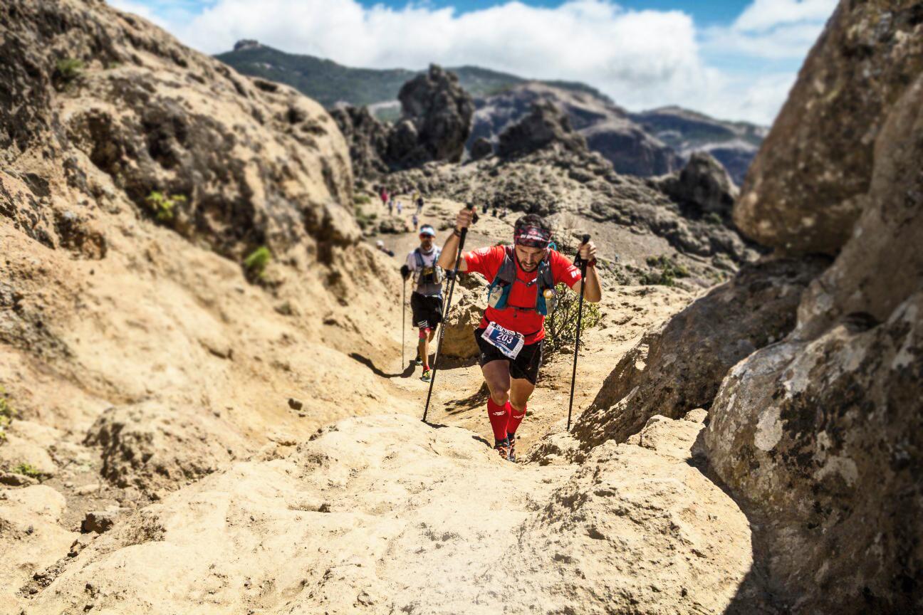 Foto Roque Nublo (Transgrancanaria 125km 2016) - por Jose Miguel Muñoz