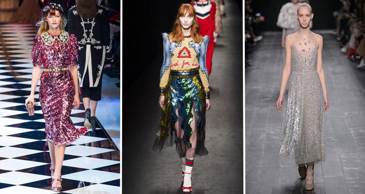 Dolce & Gabbana, Gucci, Valentino Otoño 2016