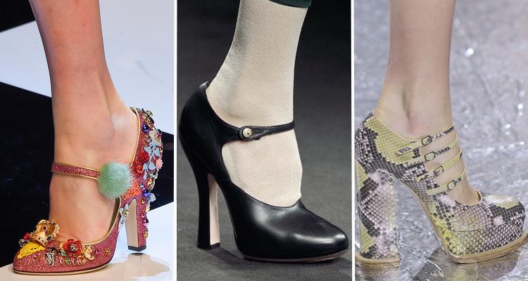 Dolce & Gabbana, Gucci, Mary Katrantzou Otoño 2016