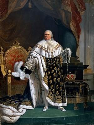 Luis XVIII Rey de Francia