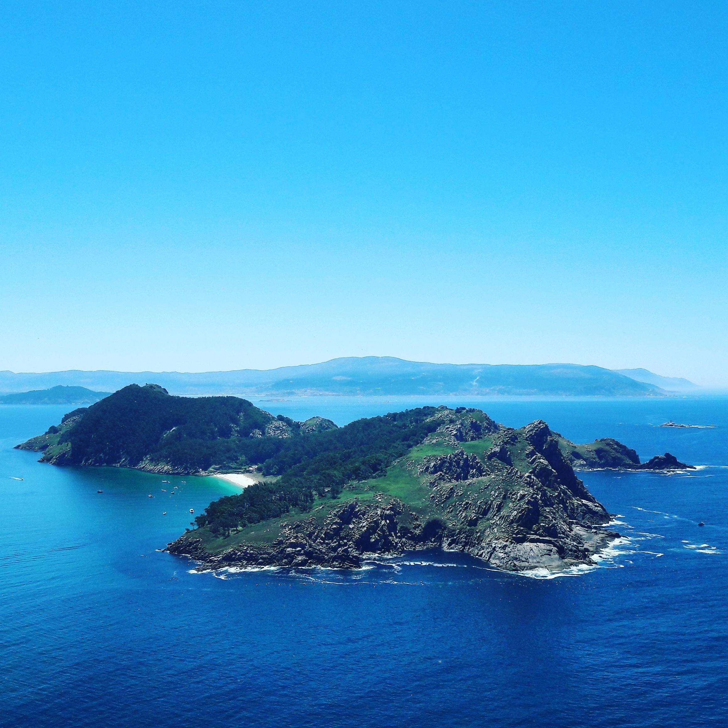Vistas a Las Islas Cíes